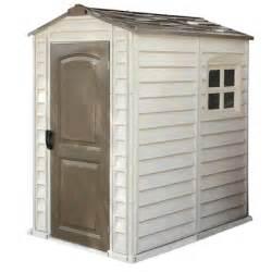 duramax 4x6 storepro vinyl storage shed kit w floor 30621