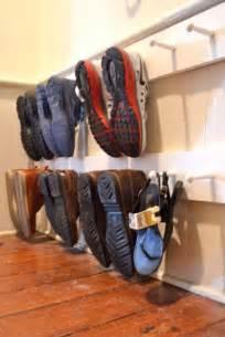 Apartment Garage Storage Ideas by 25 Best Ideas About Garage Shoe Storage On