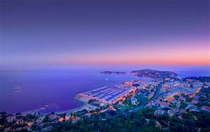 Monaco Landscape Sunset Full HD Wallpaper and Background ...