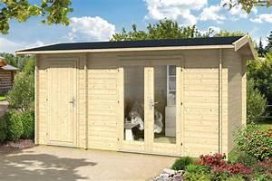 Gartenhaus Mit 2 Eingängen : gartenhaus 410x240 holzhaus bausatz 2 raum gartenhaus satteldach vom garten fachh ndler ~ Sanjose-hotels-ca.com Haus und Dekorationen