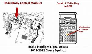 Finding Dedicated Brake Light Circuit To Install A Trailer