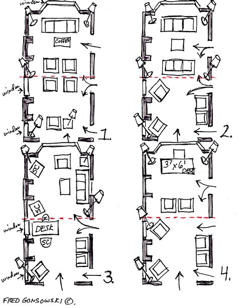 How To Decorate Long Narrow Living Room by Arranging Furniture In A 12 Foot Wide By 24 Foot Long