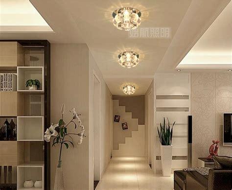 bedroom led crystal ceiling lamps  home modern