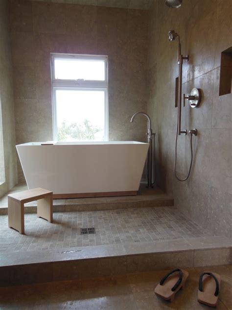 Open Wet Room Bathroom Remodel