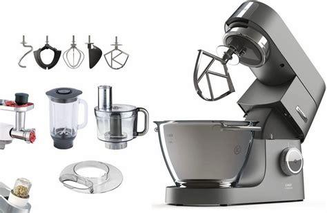 Kenwood Küchenmaschine Chef Titanium + Zubehörpaket Im Wert Von Uvp € 419,96, 4,6 Liter Online