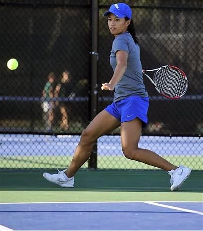 Tennis Player Playing Sports Burn Match Calories