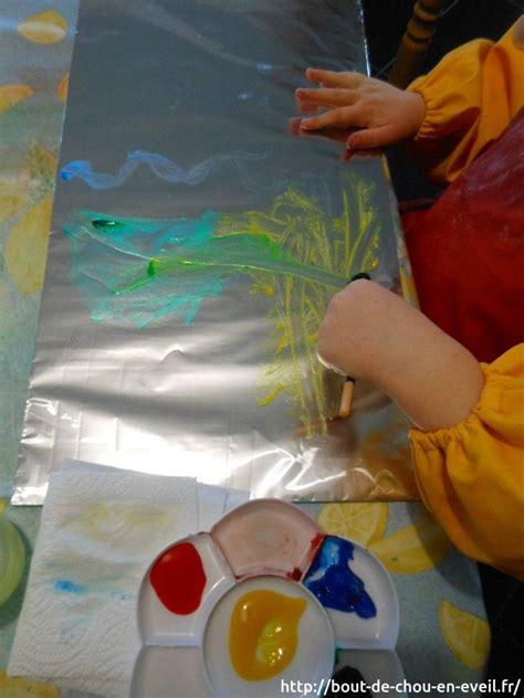 activit 233 peinture libre sur aluminium activit 233 s enfants