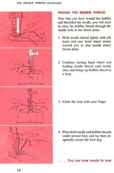 Singer Sewing Machine Threading Diagram For Way