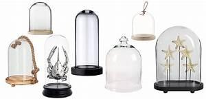 Cloche Verre Deco : cloche en verre deco ~ Teatrodelosmanantiales.com Idées de Décoration