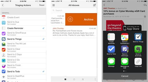 best iphone email app best mail apps for iphone imore