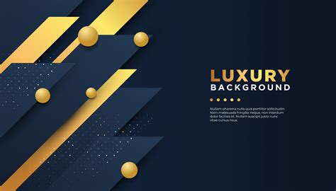 abstract background  navy  gold overlapping layers