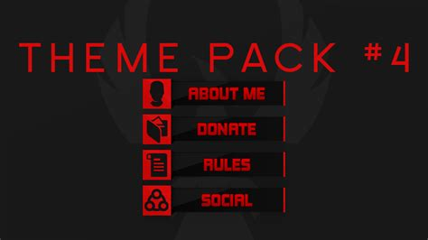 Twitch Info Panel Templates by Free Twitch Panel Theme Packs 1 Pinterest Graphics