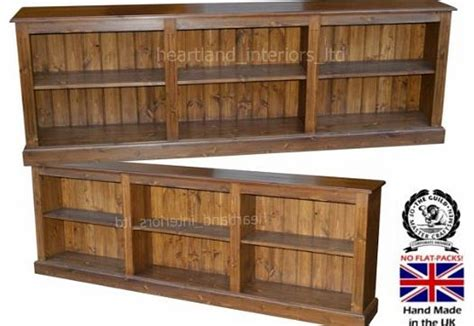 Low Wide Bookcase by Low Wide Bookcase