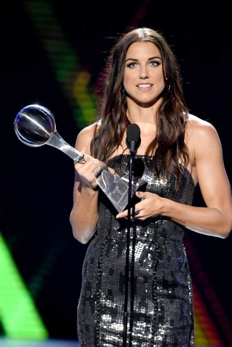 alex morgan   espy awards  los angeles