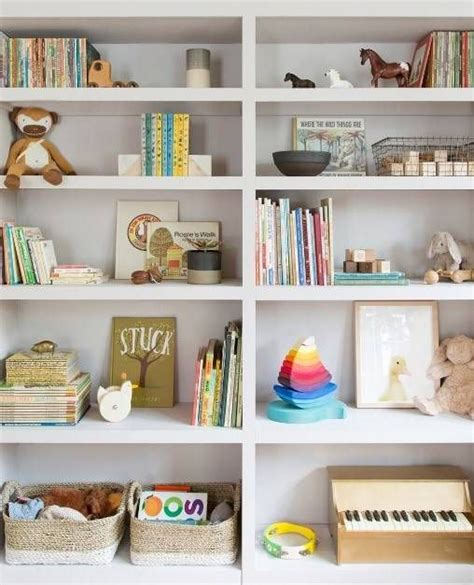 20 Kid Room Shelves With Styling You'll Want To Copy Toy