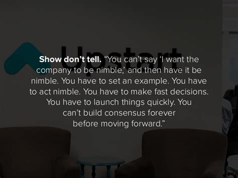 """Show Don't Tell """"you Can't"""