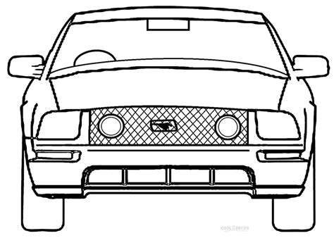 printable mustang coloring pages  kids coolbkids