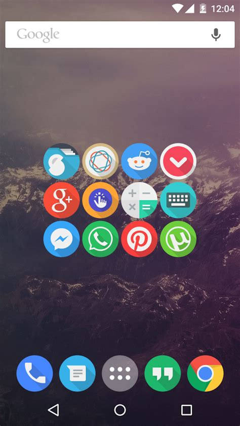 screenshot apps for android click ui icon pack android apps on play