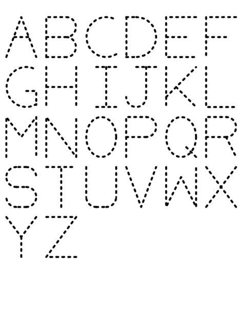 traceable alphabet worksheets printable shelter