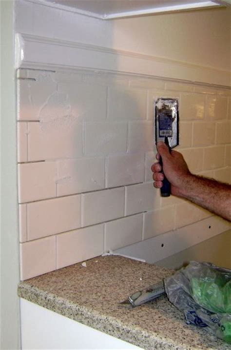 kitchen backsplash how to install how to install a tile backsplash for my condo