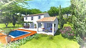 modele maison provencale interesting maison neuve en With awesome plan maison entree sud 5 plan de maison bartavelle