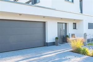 porte de garage aluminium budget maisoncom With porte de garage de plus porte aluminium