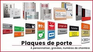 Plaques De Portes : signal tique online fabricant de signal tique sur mesure ~ Melissatoandfro.com Idées de Décoration