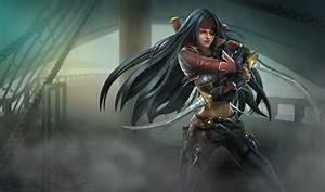 League of Legends Wallpaper: Katarina - The Sinister Blade  Katarina