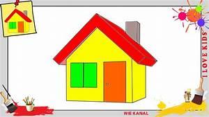 Haus Kaufen Schritt Für Schritt : haus zeichnen 3 schritt f r schritt f r anf nger kinder ~ Lizthompson.info Haus und Dekorationen