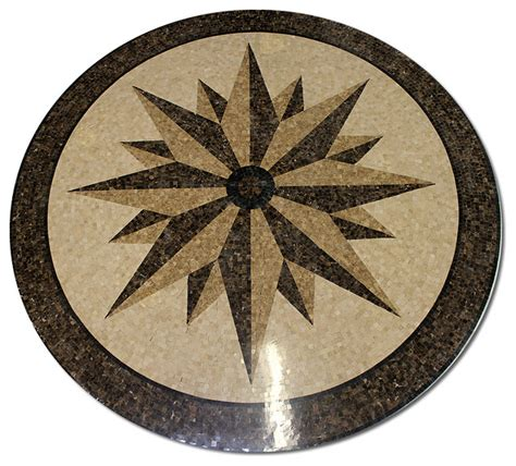 marble medallions for floors mosaic polished floor medallions tile medallion marble inlay star compass beach style floor
