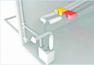 Comment Installer Une Vmc : comment r aliser le r seau de ventilation double flux ~ Dailycaller-alerts.com Idées de Décoration