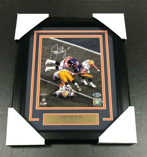 John Elway Signed Photo Autographed Nfl Pictures
