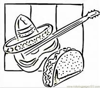 mexican food coloring pages coloring pages
