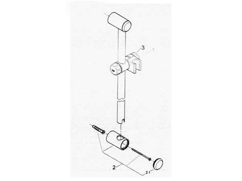 How To Remove Shower Riser Rail - grohe relexa 600mm shower riser rail set chrome shower