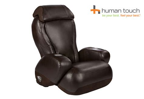 human touch compact chair recliner sharper image