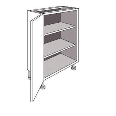 meuble cuisine profondeur 40 meuble de cuisine bas faible profondeur 1 porte twist