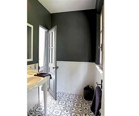 peinture pour carrelage mural cuisine la déco salle de bain en carreaux de ciment c 39 est chouette