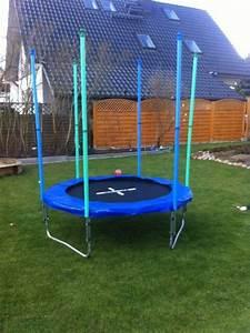 fur kleinkinder gartentrampolin hudora 200cm mit With französischer balkon mit trampolin garten klein