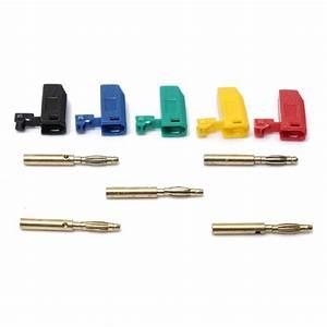 5 Colors 2mm Banana Plug Connector Jack For Speaker