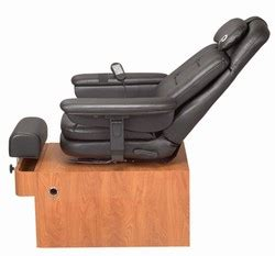 pibbs ps89 amalfi pedicure chair pibbs ps89 pedi spa amalfi with and recline