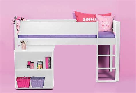 lit hauteur avec bureau commandez le lit mi hauteur milan blanc avec bureau