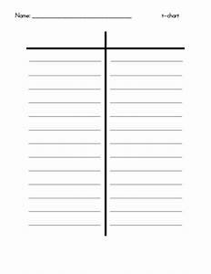 30 Printable T-chart Templates  U0026 Examples