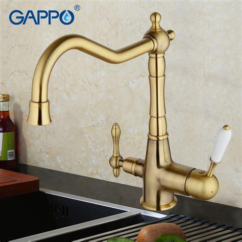 gappo water filter faucet torneira kitchen faucet bronze