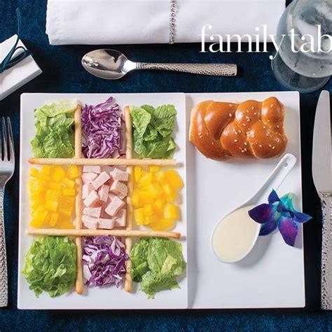 salad kosher plate tic tac toe