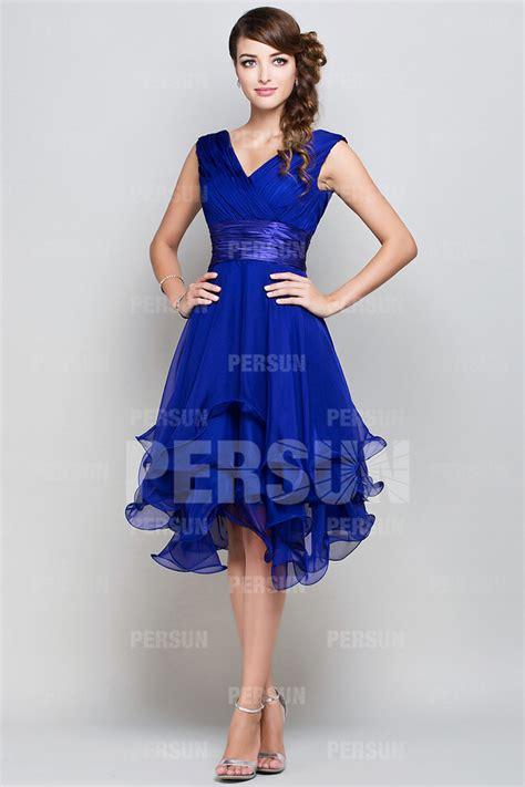 robe bleu roi mariage robe de mariage bleu roi élégant robe de mariée