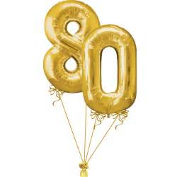 get well soon baloons 80th birthday numbers bunch gold magic balloons