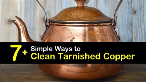 simple ways  clean tarnished copper