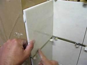 pose carrelage mural carrelage salle de bains With salle de bain sans carrelage mural