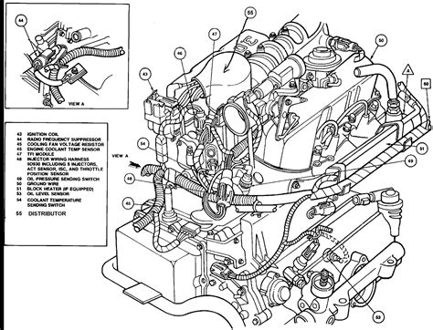 Ford Tauru Engine Sensor Wiring Diagram by 1992 Ford Taurus 3 0 The Fan Does Work If Wired