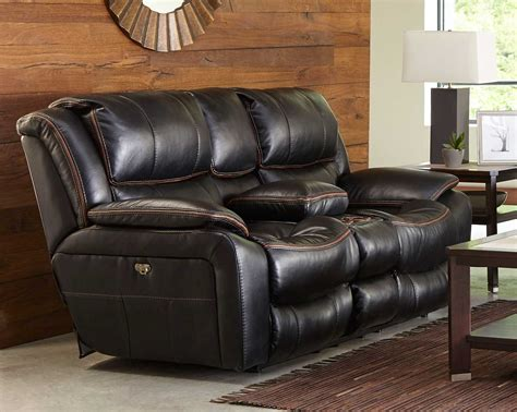power reclining sofa with usb ports catnapper beckett power reclining console loveseat with